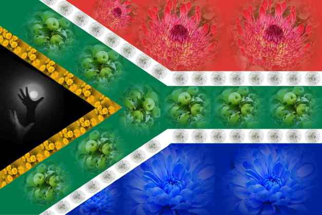 SA Flag collage low res