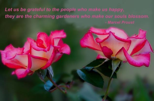 Grateful gardeners